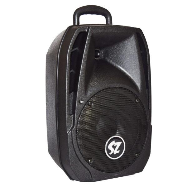 JSZ8 bafle amplificado 8 pulgadas recargable lado