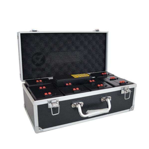 DT12BAT Detonador chisperos inalámbrico 12 bases con case