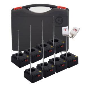 DT8BAT Detonador chisperos 8 bases con case